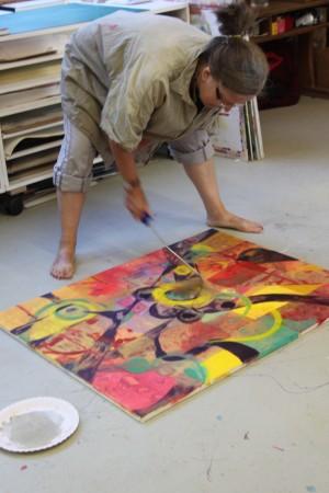 Malerei ist körperlich!